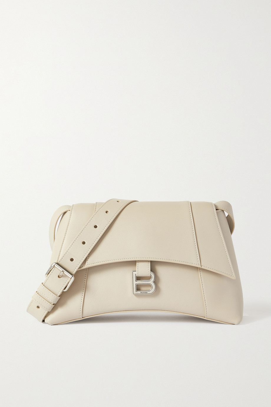 Balenciaga Hourglass small leather shoulder bag