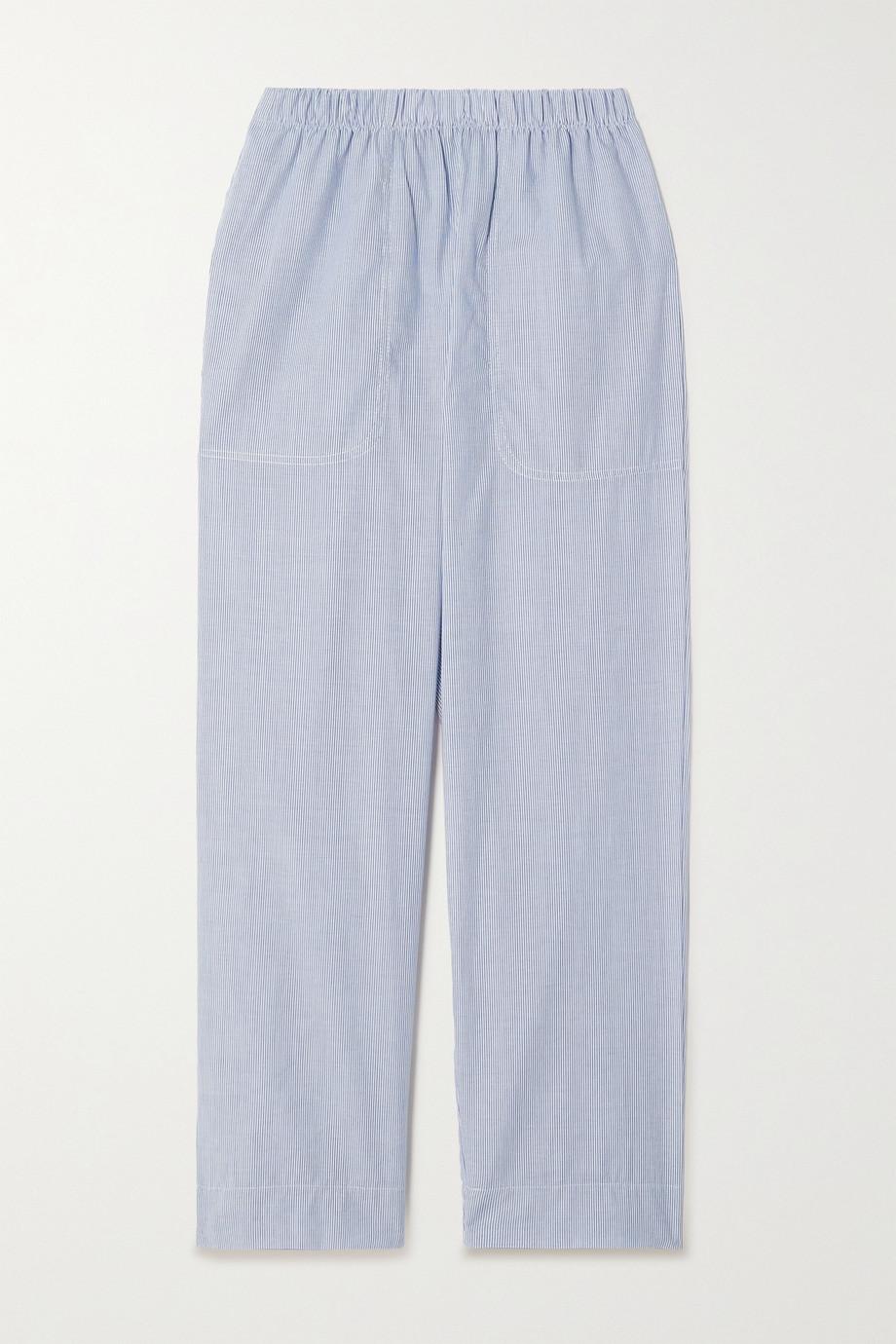 LESET Eve Pyjama-Hose aus gestreifter Baumwollpopeline