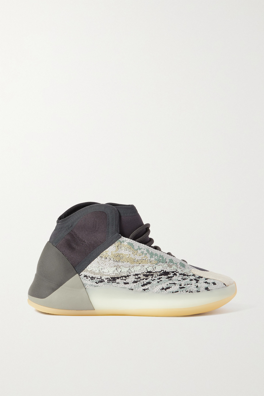 adidas Originals Yeezy Quantum Primeknit Sneakers aus Neopren und Veloursleder