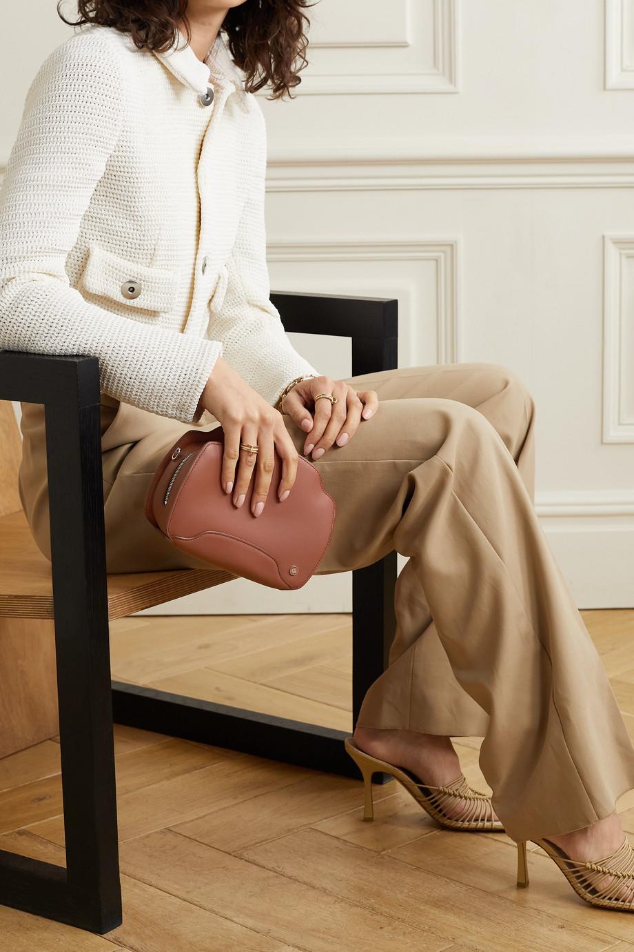 Loro Piana Sesia Schultertasche aus Leder