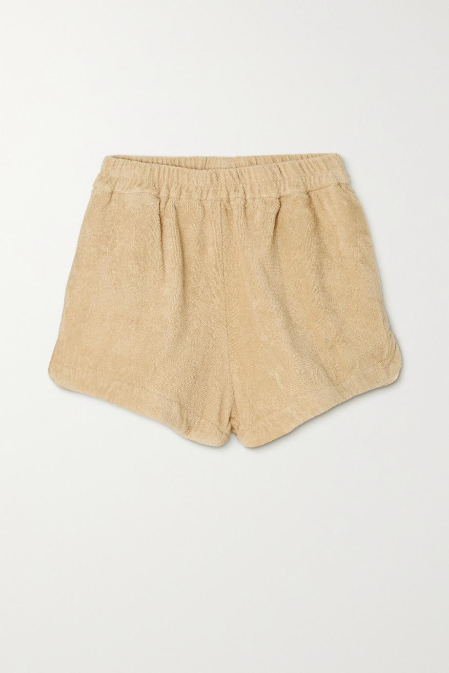 TERRY Estate Shorts aus Baumwollfrottee