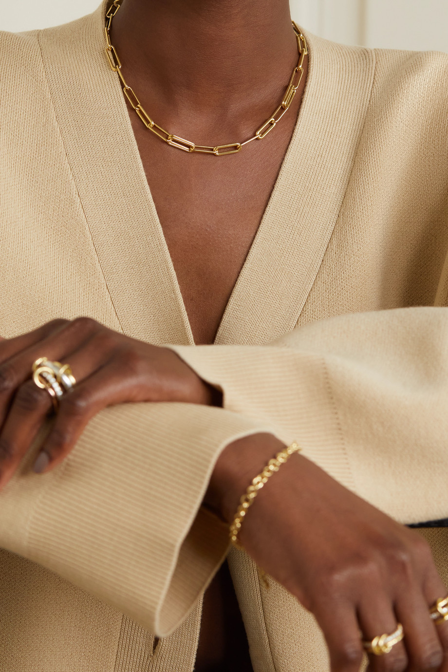 Spinelli Kilcollin Elliptical Kette aus 18 Karat Gold