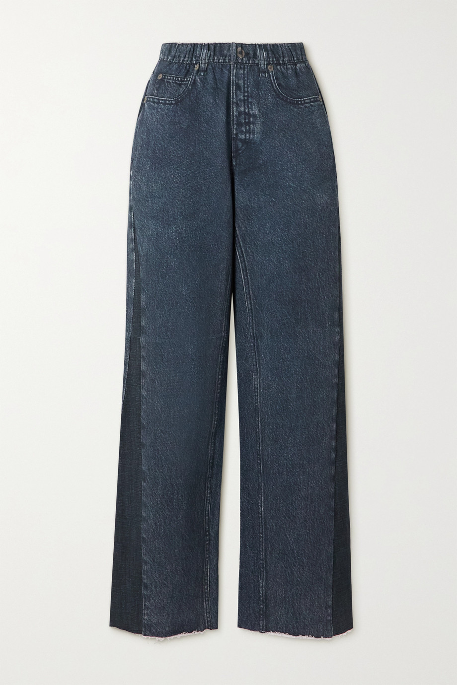 rag & bone Pantalon de survêtement large en jersey de coton imprimé Miramar