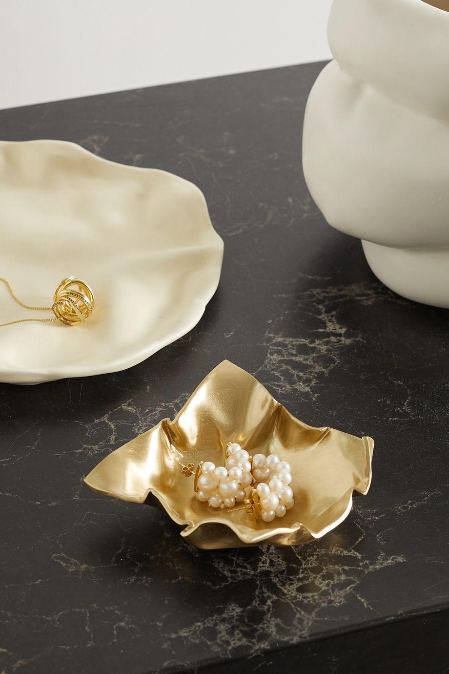 Completedworks Fold goldfarbene Schale