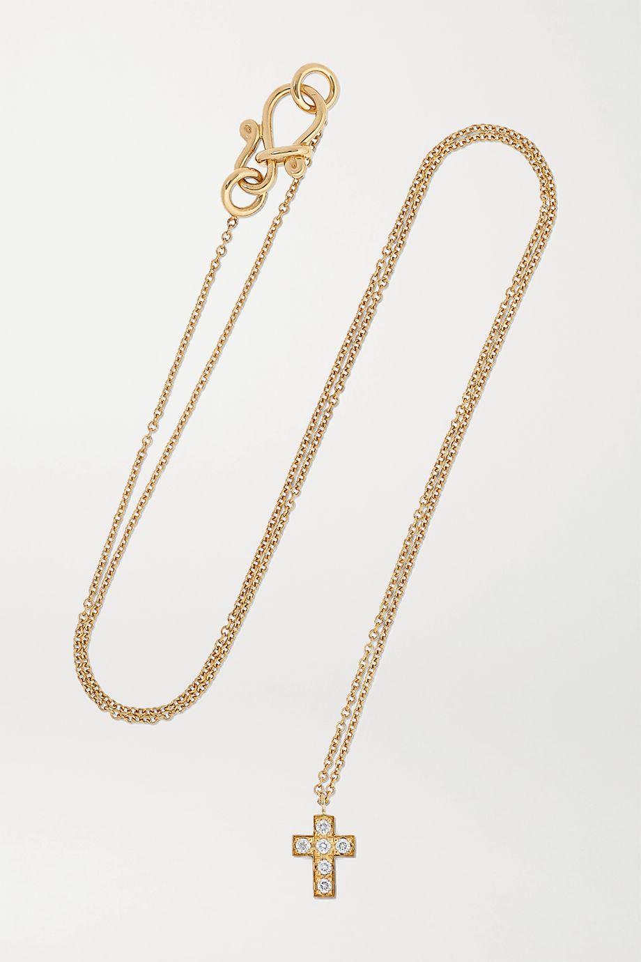 Sophie Bille Brahe Giulietta 18-karat gold diamond necklace