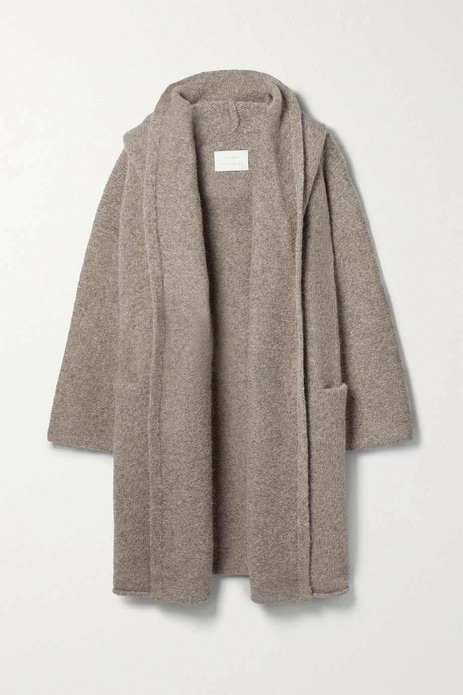 Lauren Manoogian Manteau à capuche en alpaga mélangé