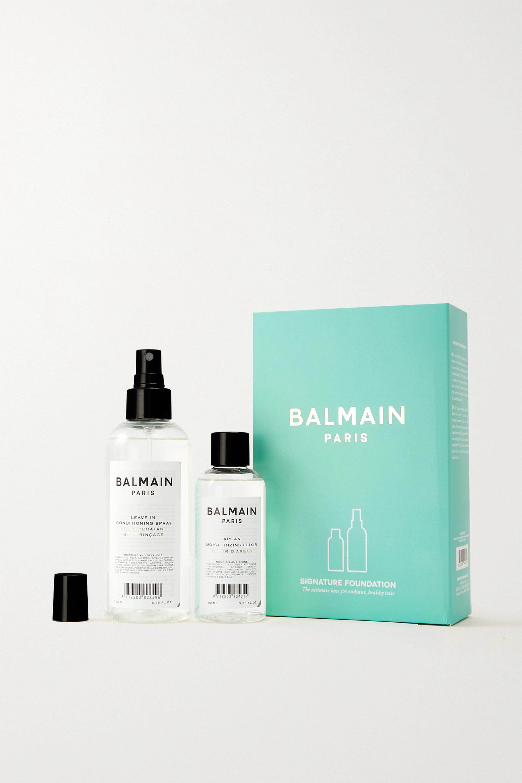 Balmain Paris Hair Couture Coffret soin pour les cheveux Summer SS21 Signature Foundation