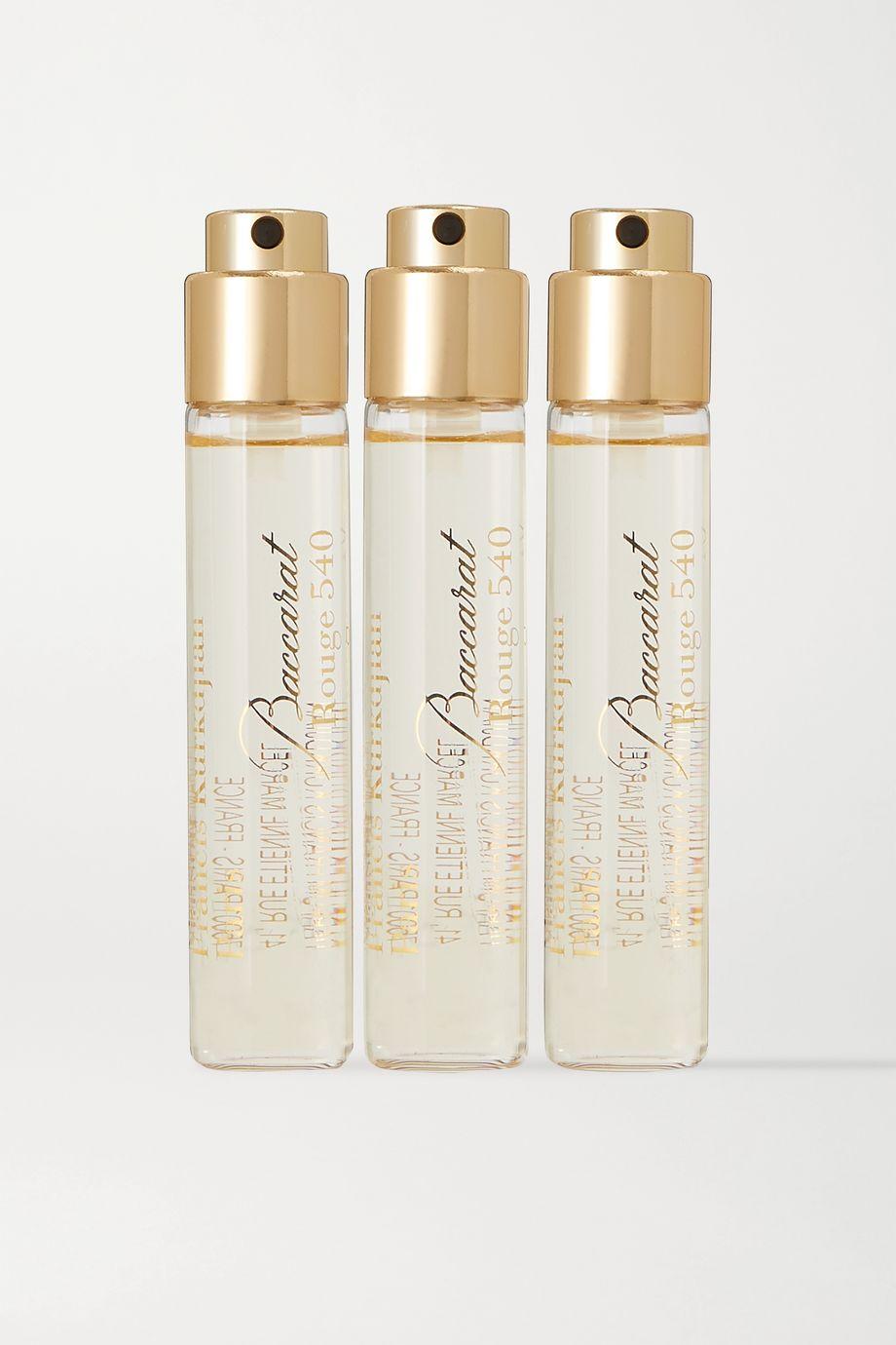 Maison Francis Kurkdjian Baccarat Rouge 540, 3 x 11 ml – Set aus Eaux de Parfum