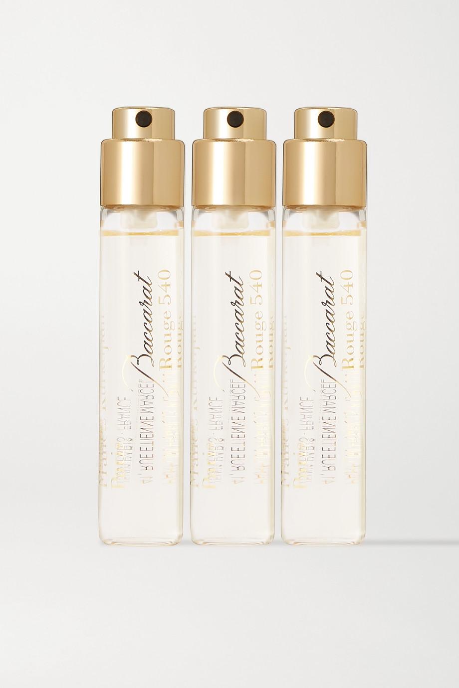 Maison Francis Kurkdjian Baccarat Rouge 540, 3 x 11 ml – Set aus Extraits de Parfum