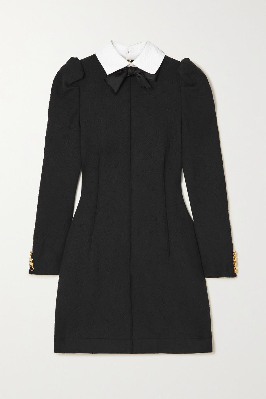 AZ Factory Mini-robe en cloqué stretch à nœud SuperTech-SuperChic