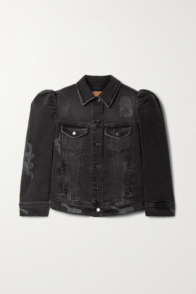 Retroféte ADA DISTRESSED DENIM JACKET