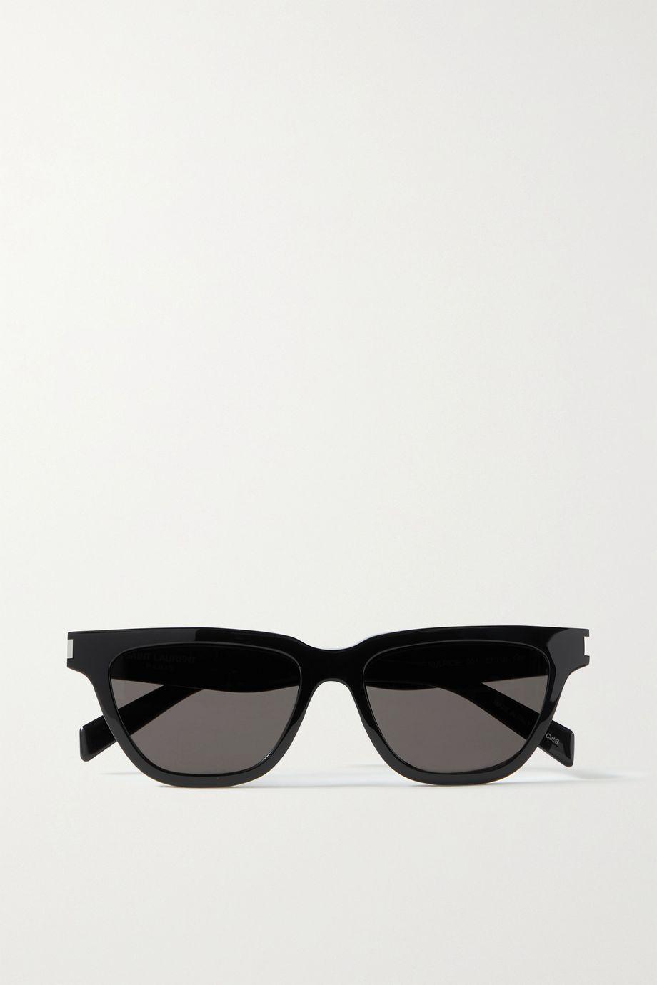 SAINT LAURENT Suplice Sonnenbrille mit D-Rahmen aus Azetat