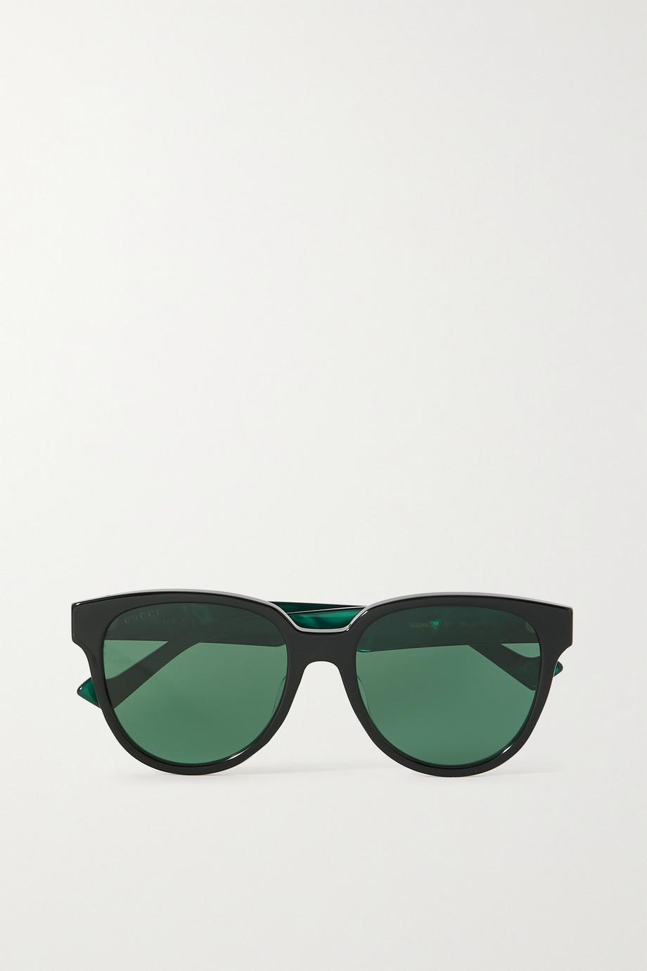 Gucci Generation round-frame acetate sunglasses
