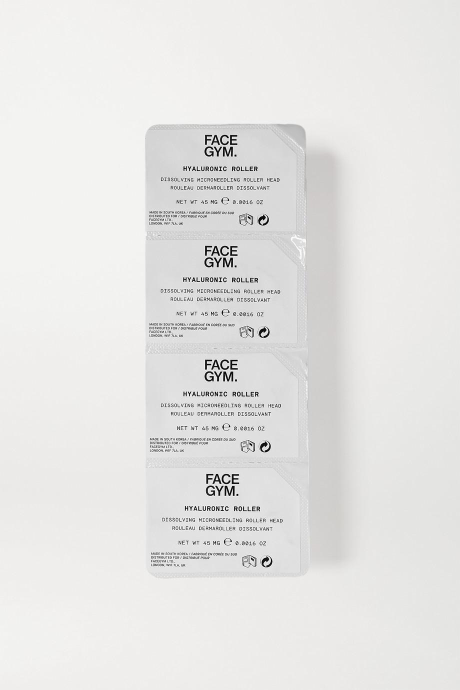 FaceGym Hyaluronic Roller Dissolving Microneedling Tool Refill – Nachfüll-Microneedling-Aufsatzköpfe