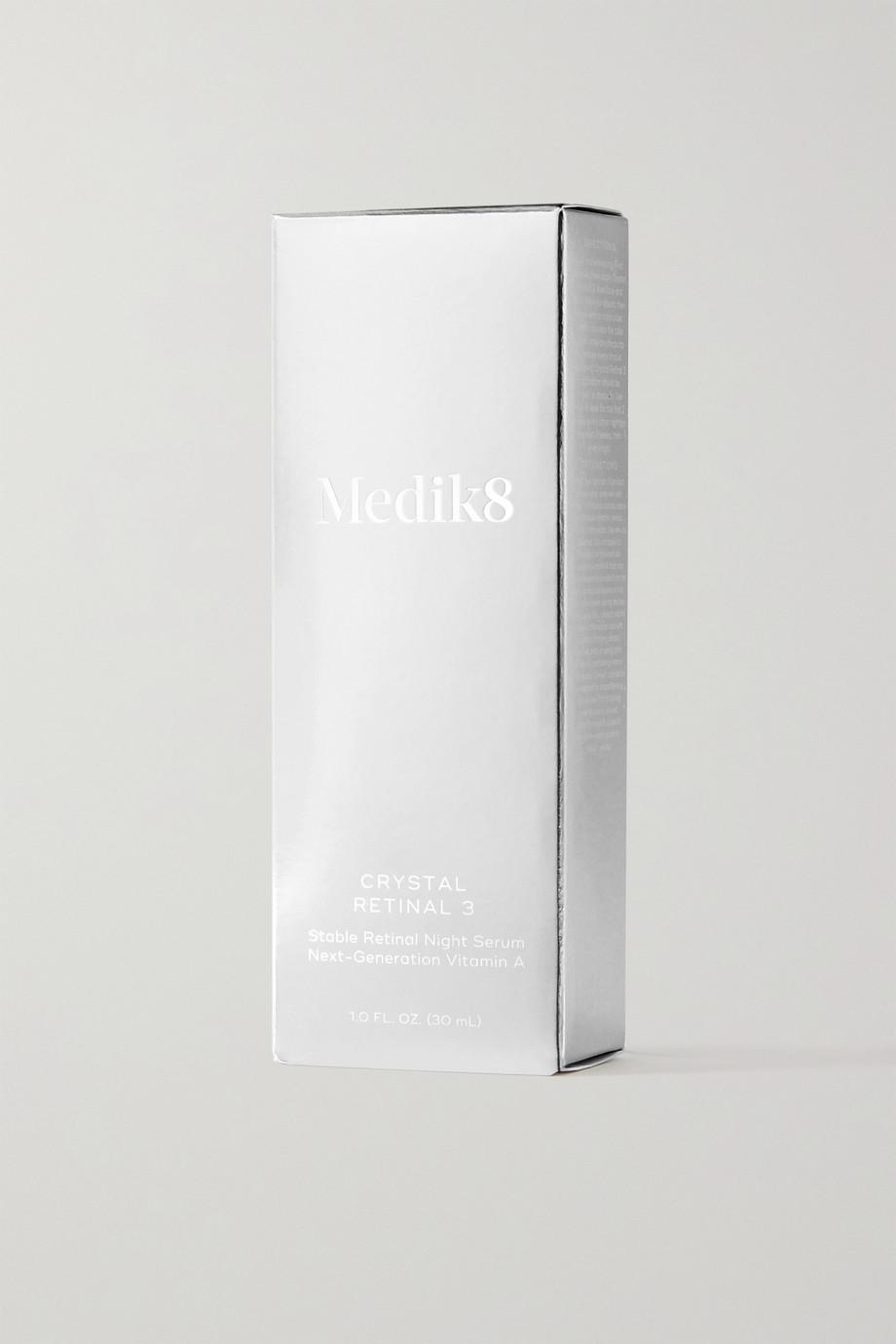 Medik8 Crystal Retinal 3™ Stable Retinal Night Serum, 30 ml – Nachtserum