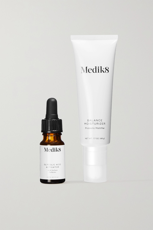 Medik8 Balance Moisturiser with Glycolic Acid Activator – Gesichtspflegeset