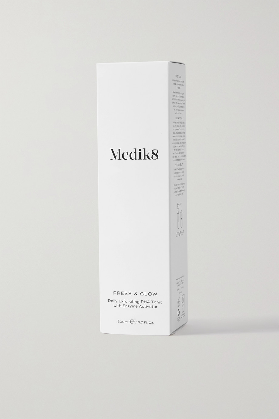 Medik8 Lotion tonique Press & Glow, 200 ml