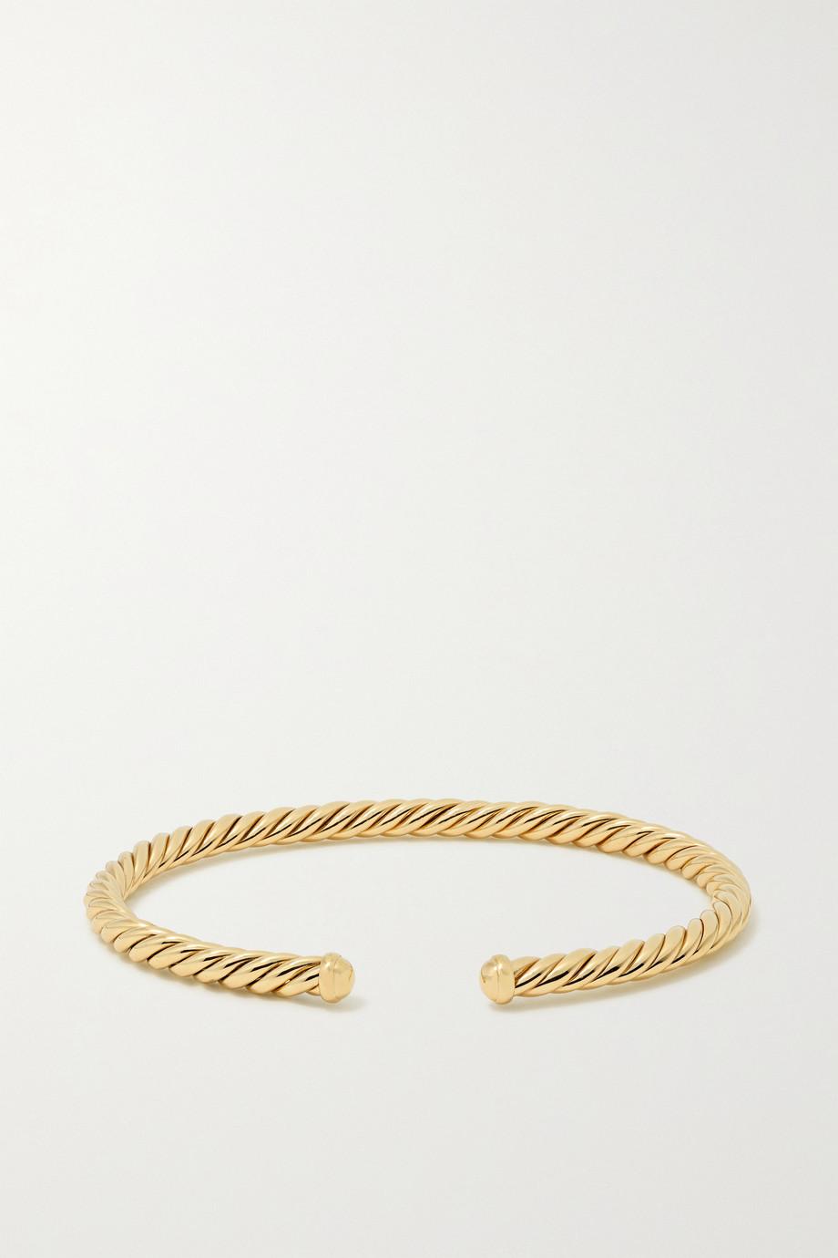 David Yurman Bracelet en or 18 carats Cable Spira