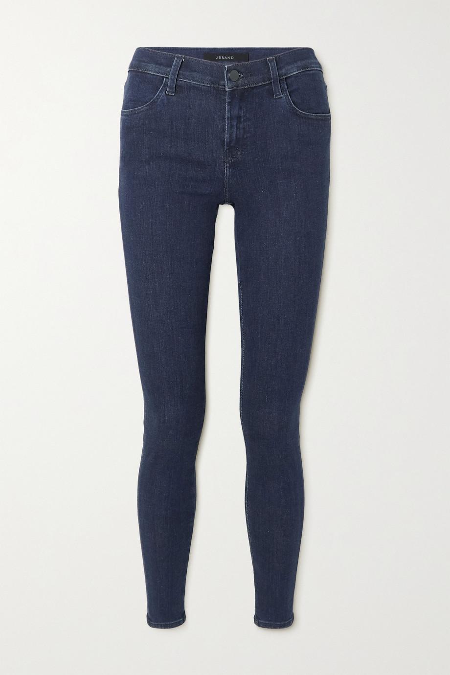 J Brand Sophia mid-rise skinny stretch-denim jeans