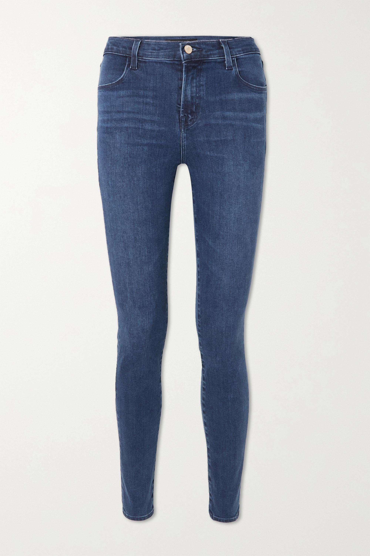 J Brand - Maria high-rise skinny jeans