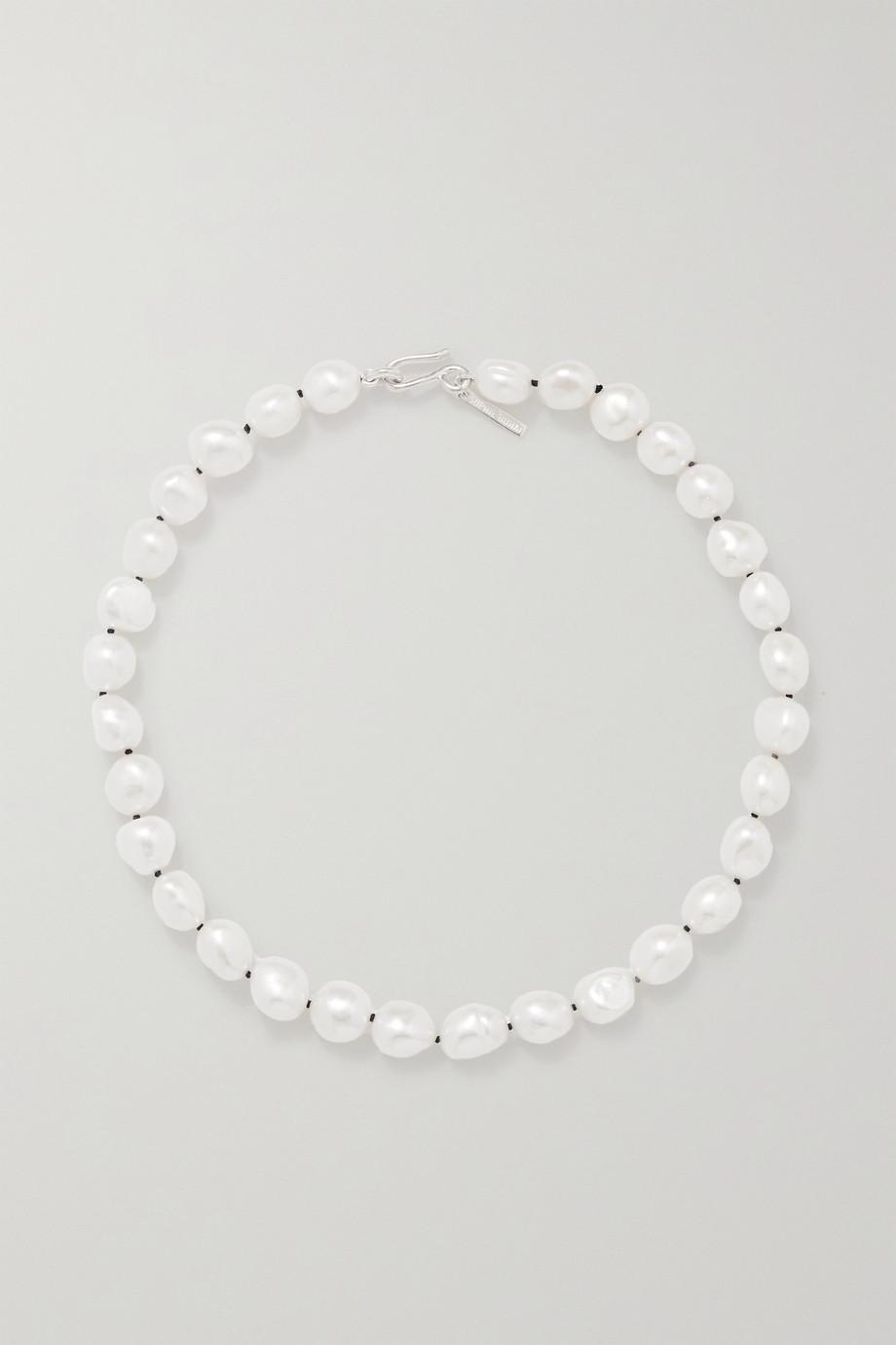 Sophie Buhai Silberkette mit Perlen