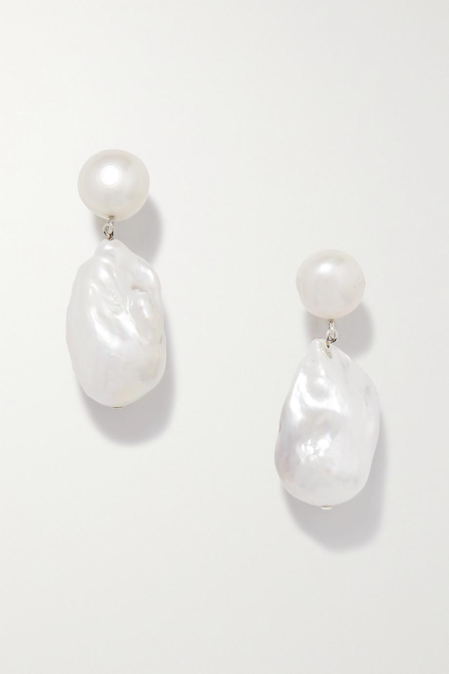 Sophie Buhai Boucles d'oreilles en argent et perles