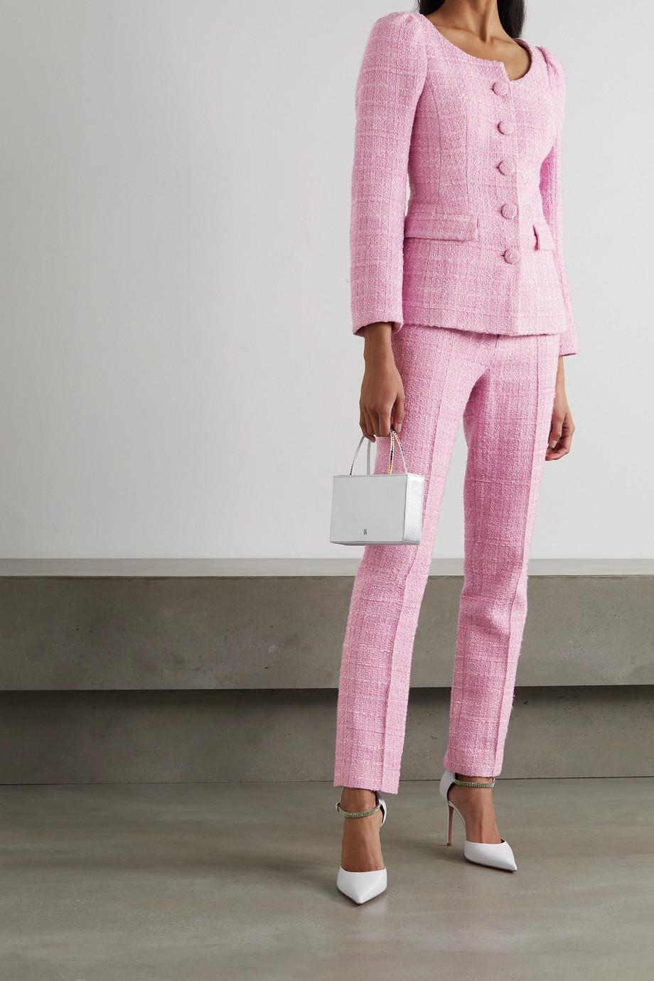 Huishan Zhang Pantalon droit en tweed Francesca