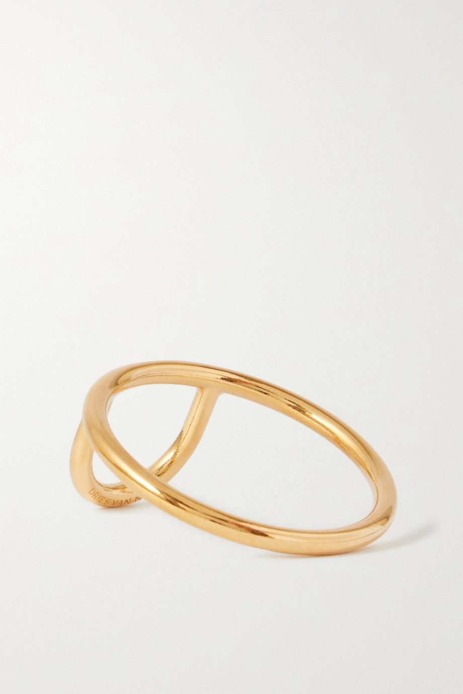 Dries Van Noten Gold-tone ring
