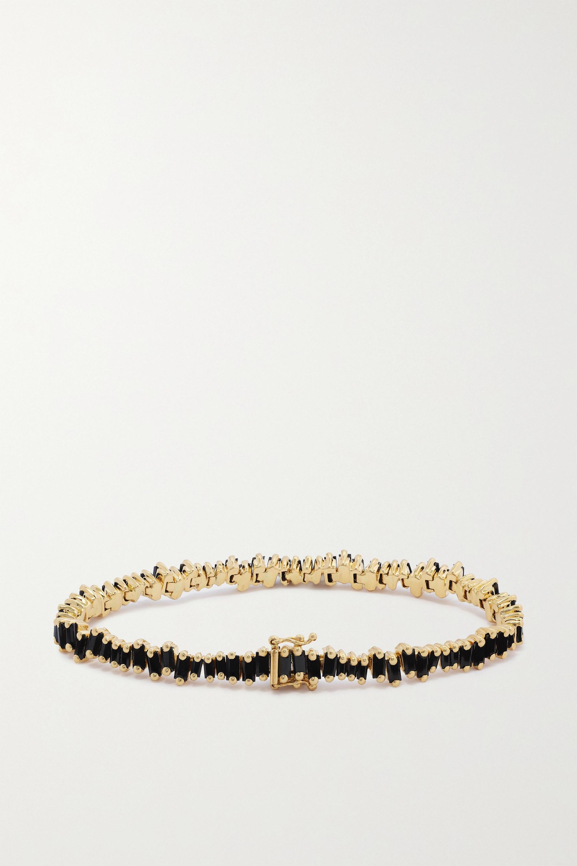 Suzanne Kalan Bracelet en or 18carats (750/1000) et saphirs