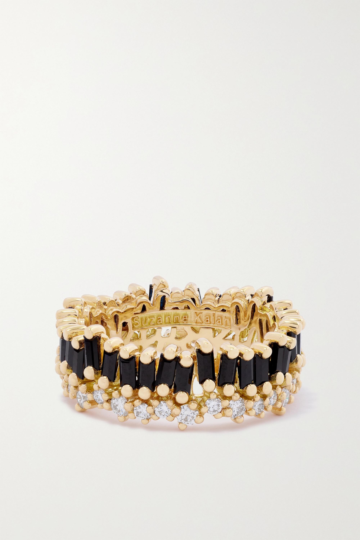 Suzanne Kalan - 18-karat gold, sapphire and diamond ring