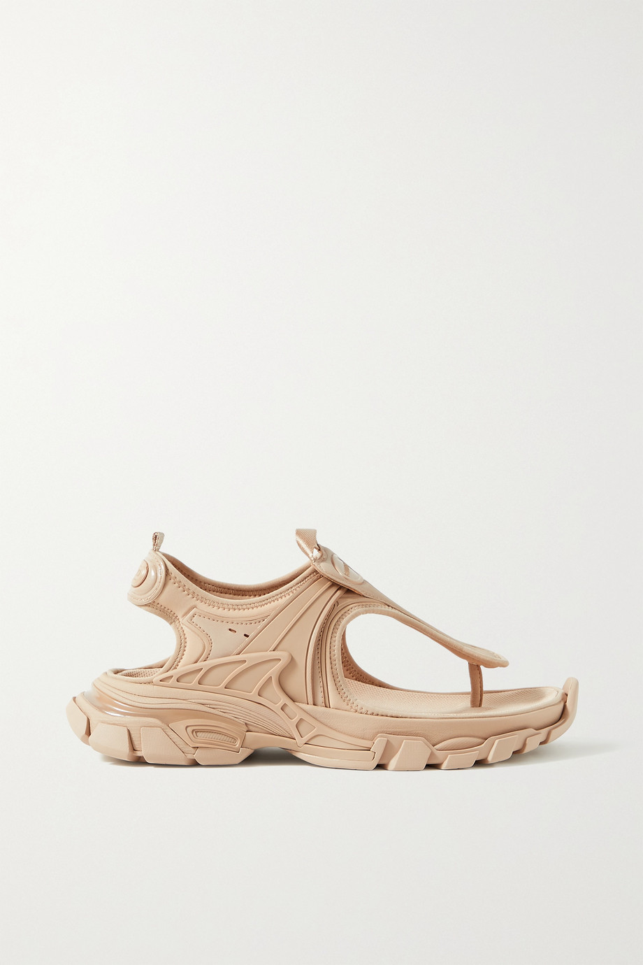 Balenciaga Track logo-detailed rubber and neoprene sandals