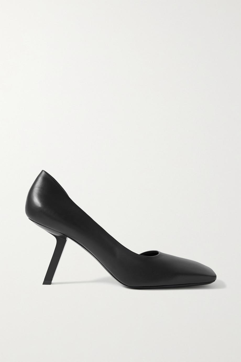 Balenciaga Void leather pumps