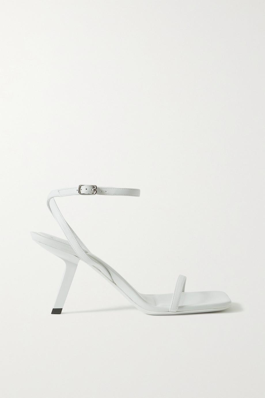 Balenciaga Void leather sandals