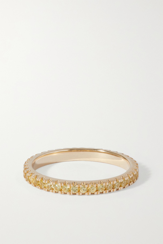 Roxanne First Bague en or 14 carats (585/1000) et saphirs