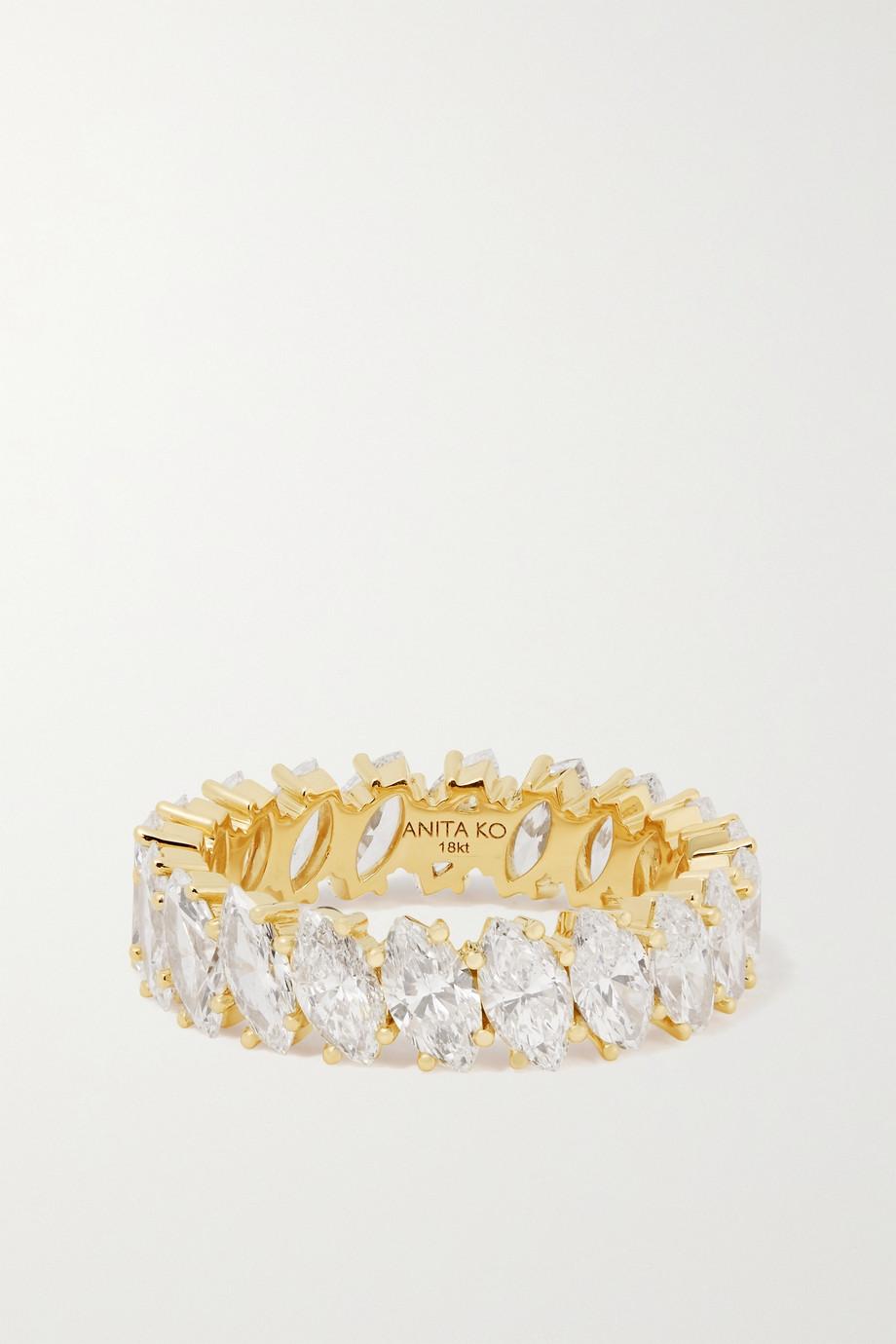 Anita Ko Ring aus 18 Karat Gold mit Diamanten
