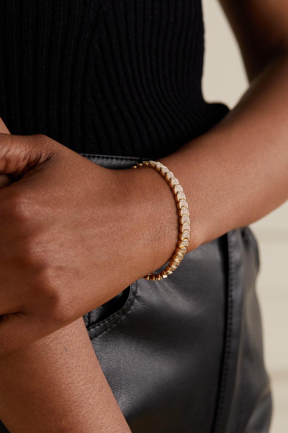 Anita Ko Luna Armband aus 18 Karat Gold mit Diamanten