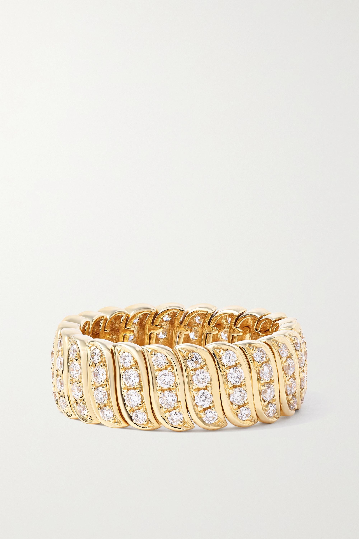 Anita Ko Zoe 18-karat gold diamond ring