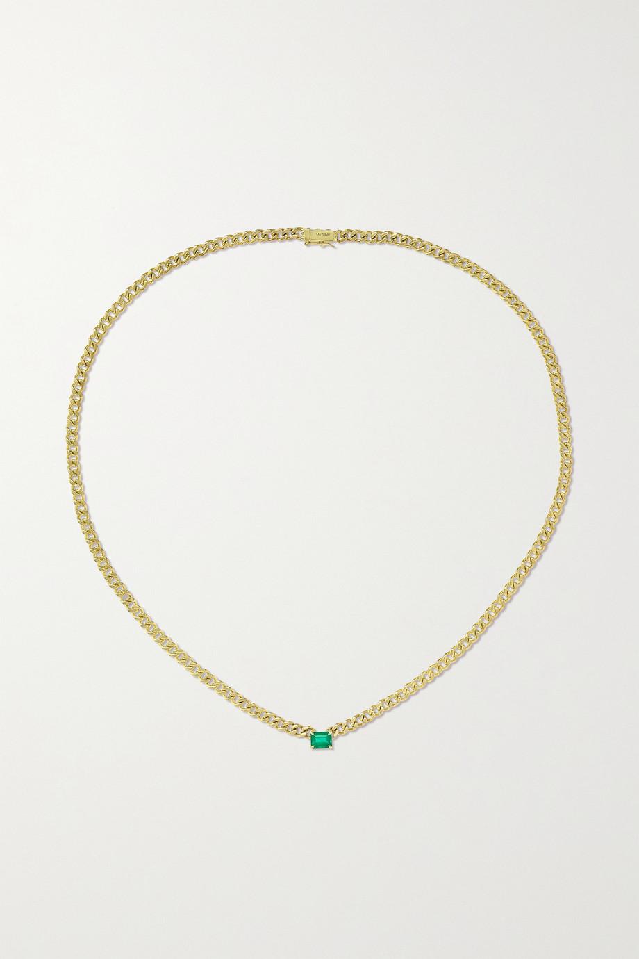 Anita Ko Collier en or 18 carats (750/1000) et émeraude