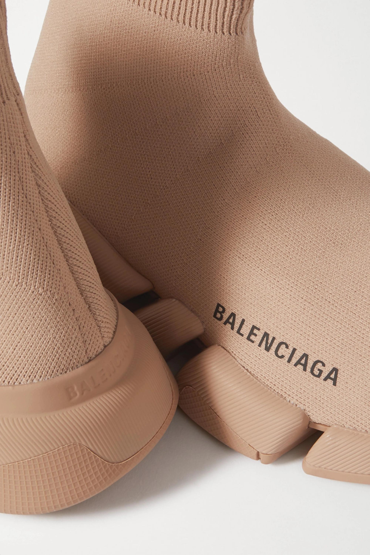 Balenciaga Baskets montantes en mailles stretch Speed 2.0