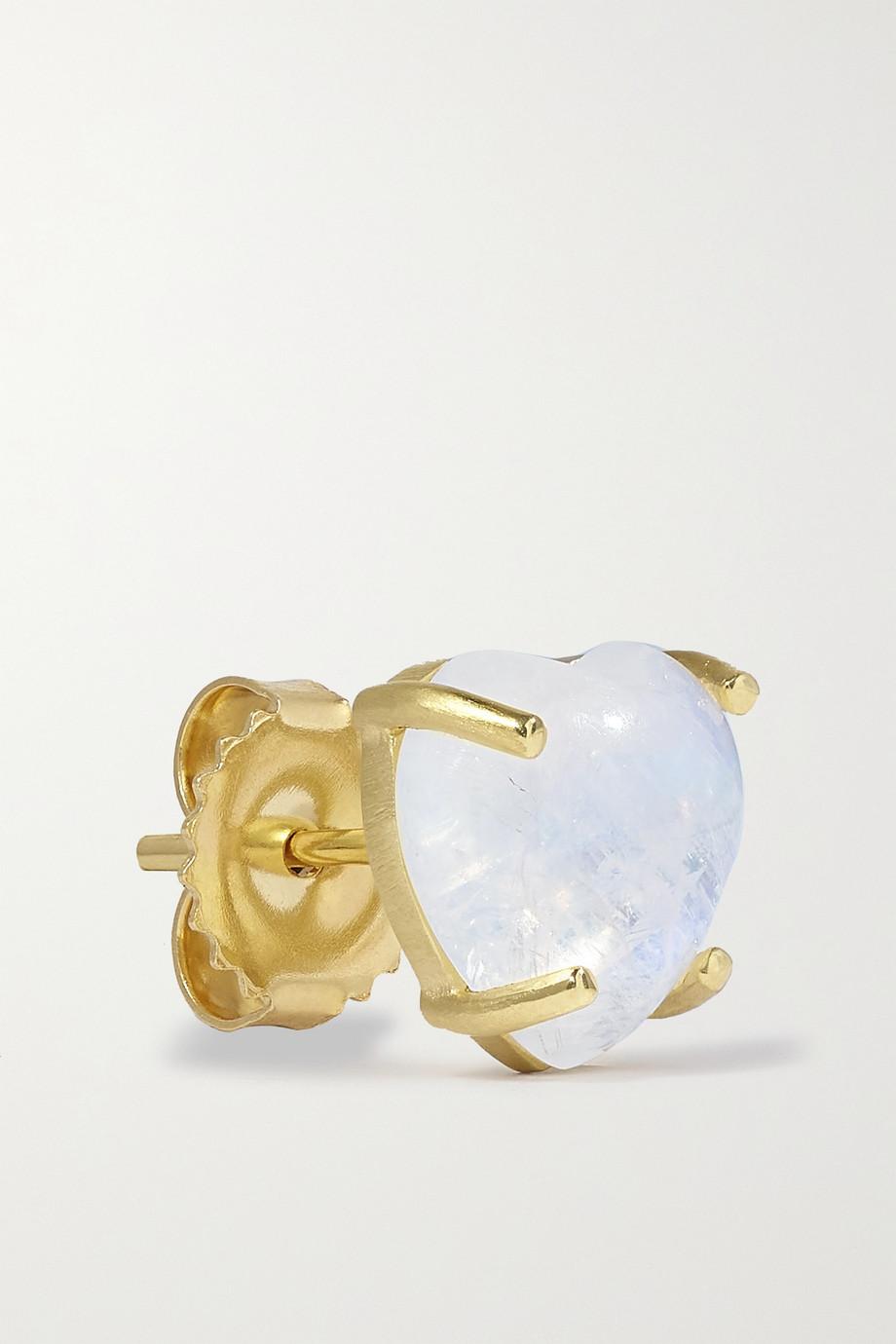 Irene Neuwirth Boucles d'oreilles en or 18 carats (750/1000) et pierres de lune Love