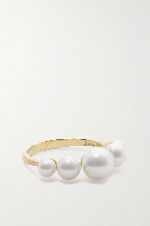 Irene Neuwirth 18-karat gold pearl ring