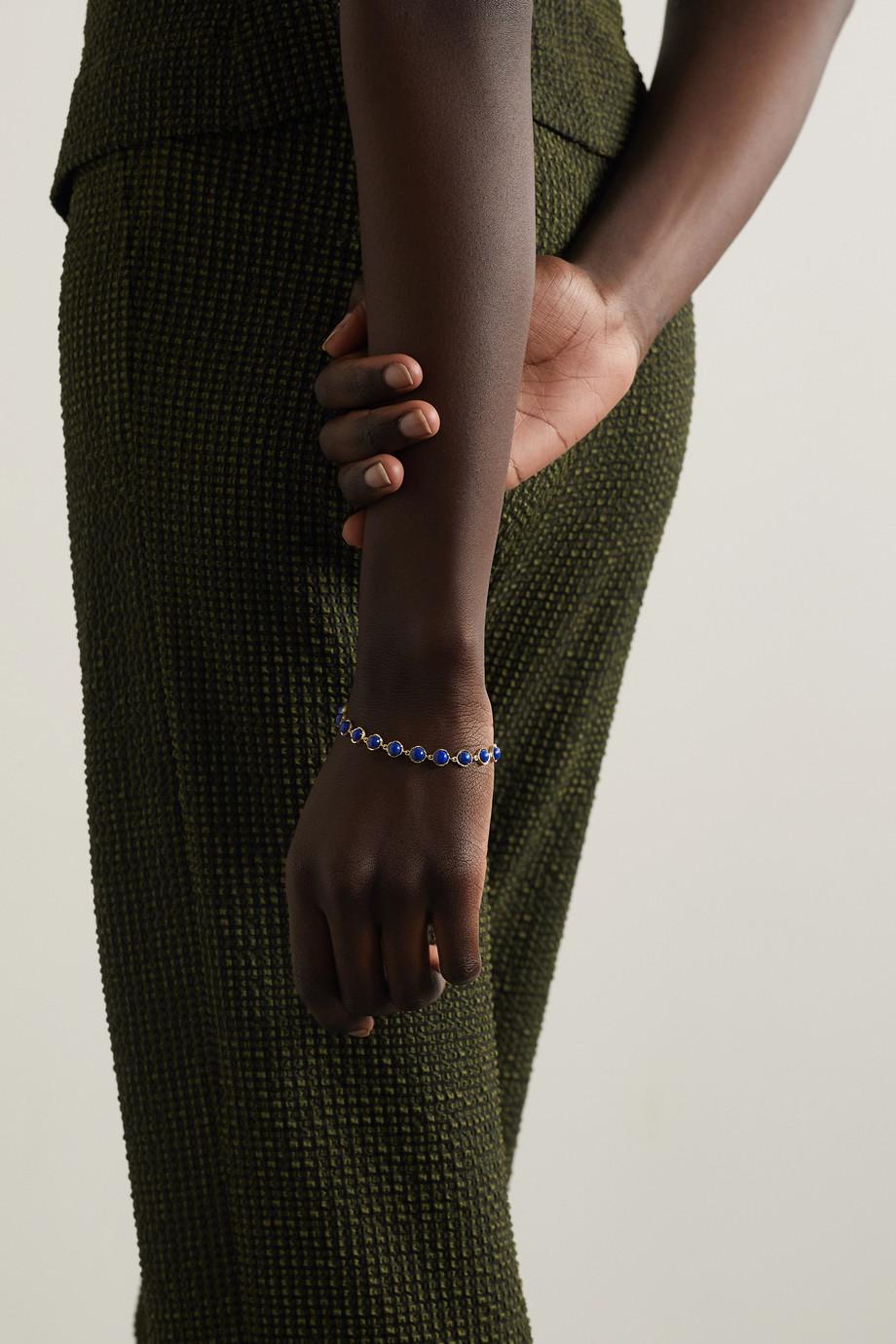 Irene Neuwirth Classic Armband aus 18 Karat Gold mit Lapislazuli