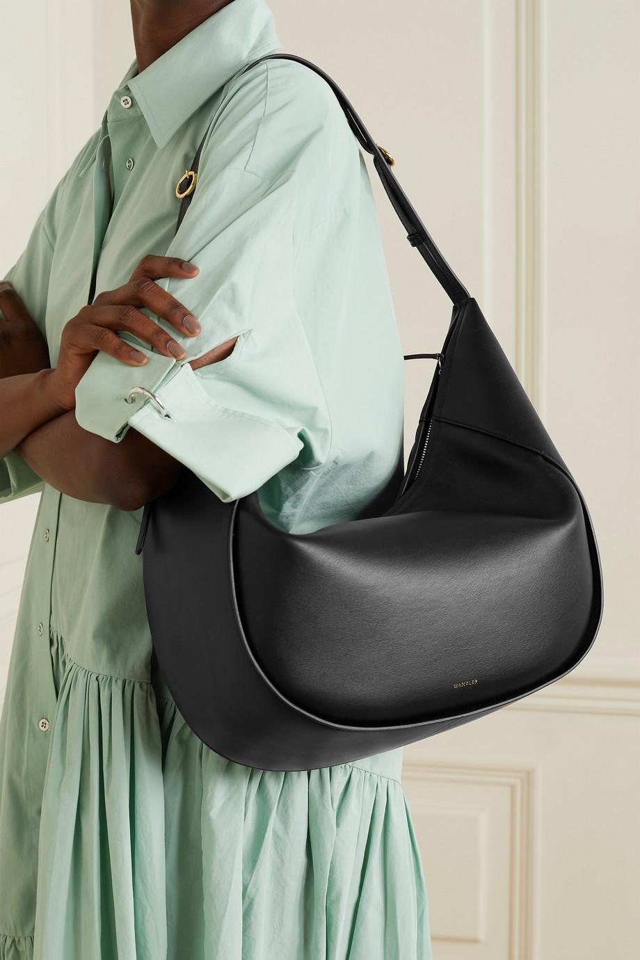 Wandler + NET SUSTAIN Lois large leather shoulder bag
