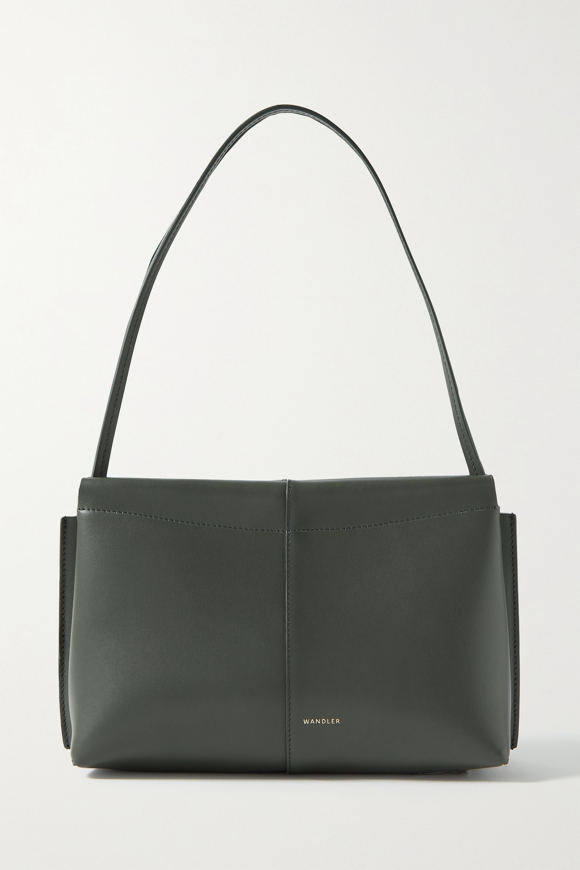 Wandler - + NET SUSTAIN Carly mini leather shoulder bag