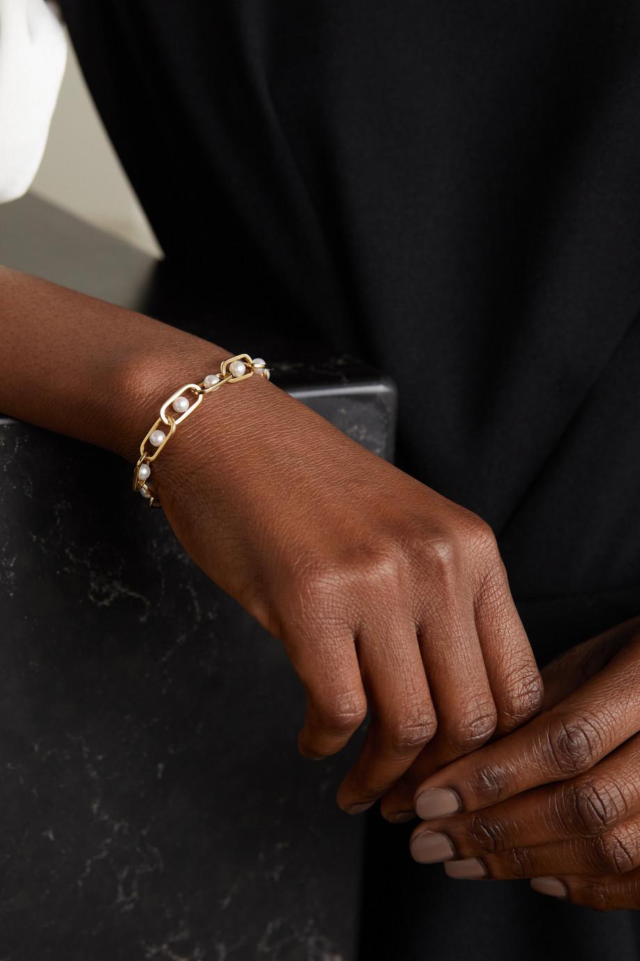 State Property Bracelet en or 18 carats (750/1000) et perles Allegory Major