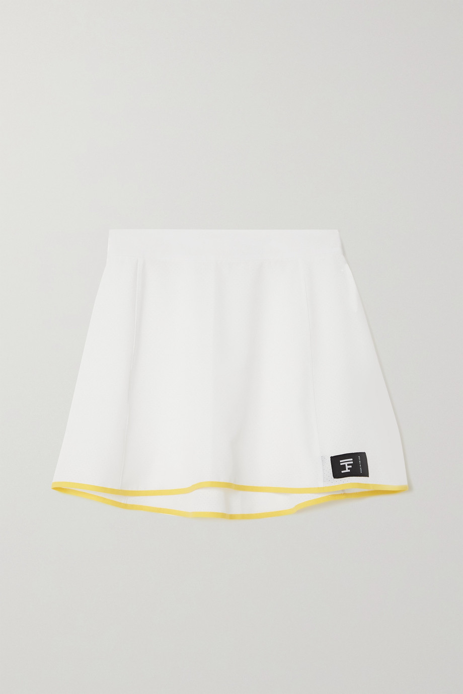 FULL COURT SPORT Perforated stretch-jersey tennis skirt