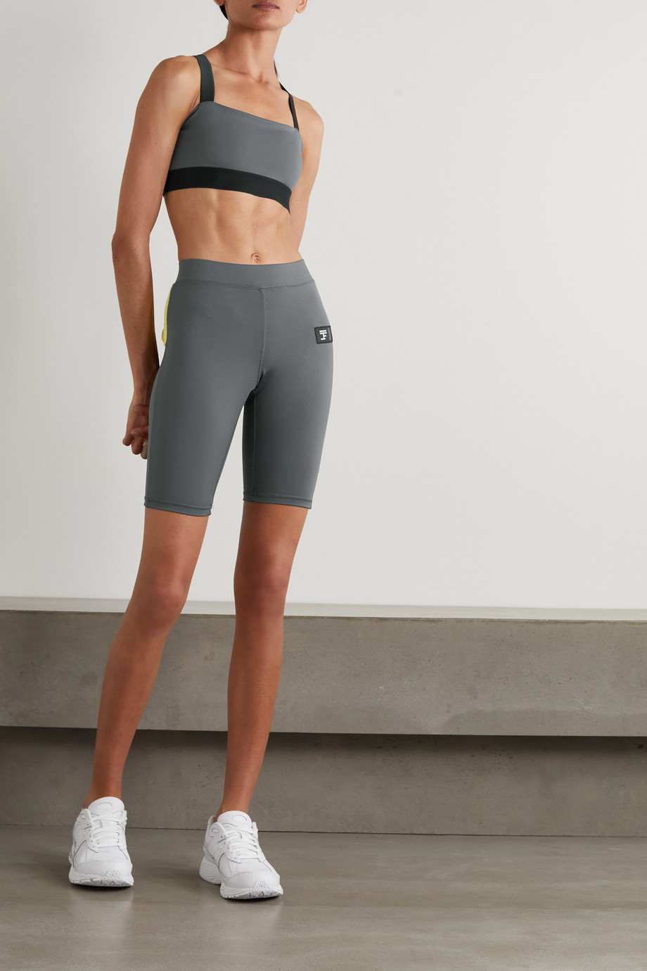 FULL COURT SPORT Stretch-jersey shorts