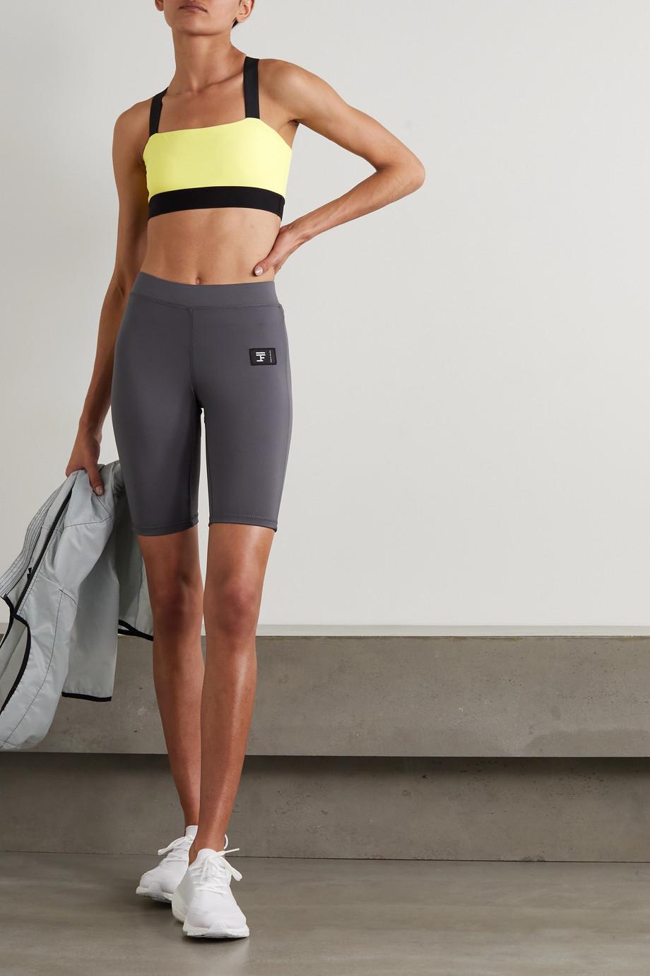 FULL COURT SPORT Stretch-jersey sports bra