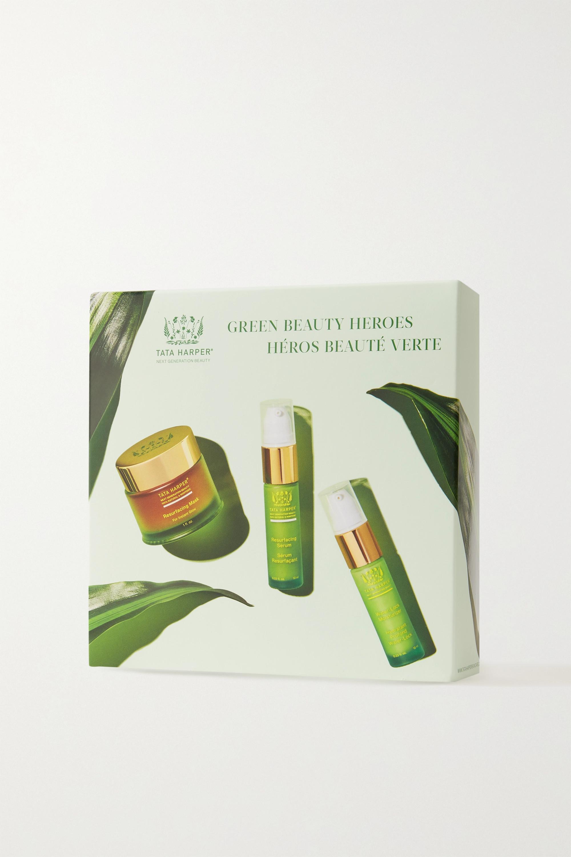 Tata Harper Green Beauty Heroes Set