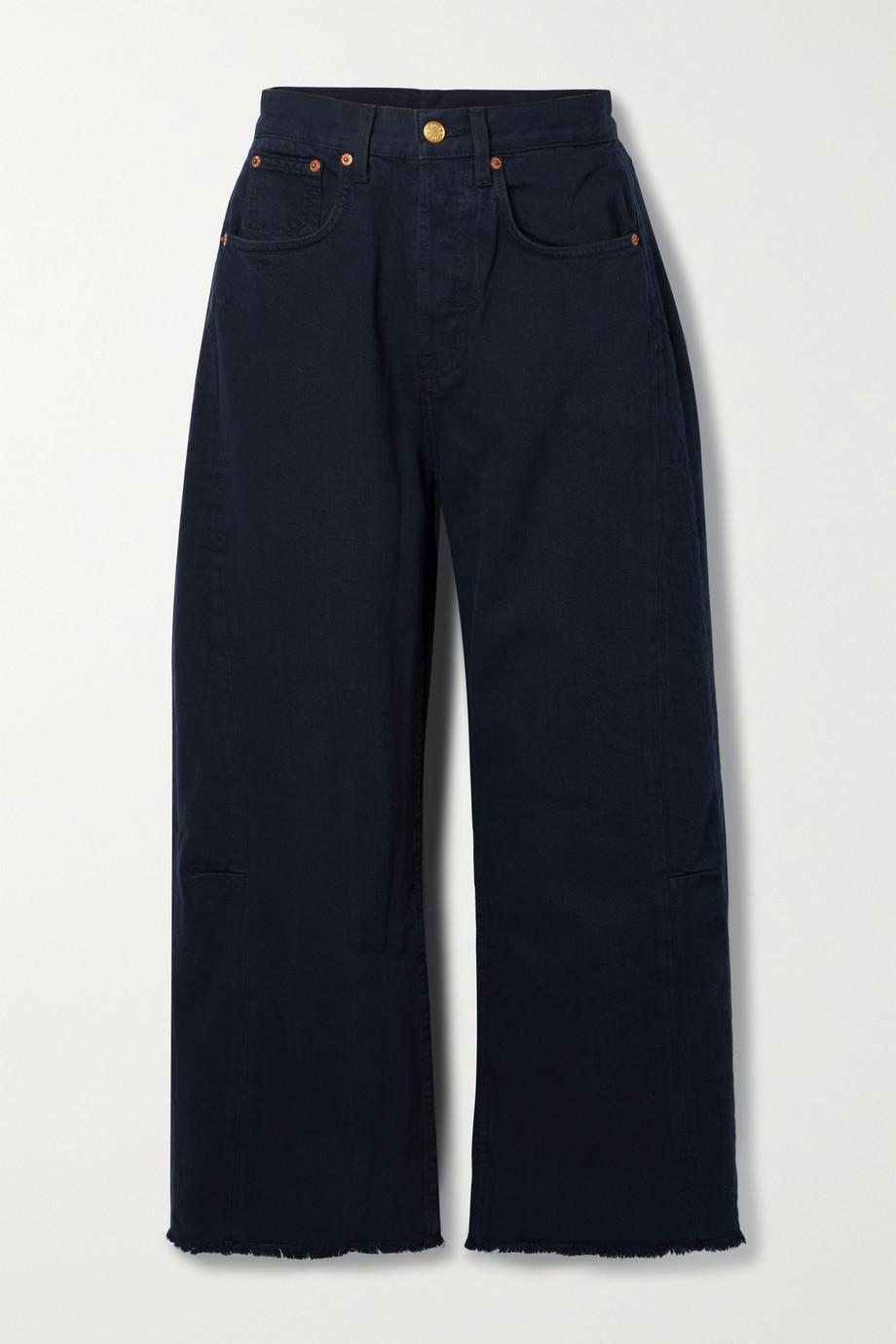 B Sides Jean large taille haute Lasso